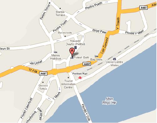 Map o Bwllheli